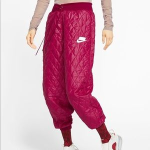 NIKE quilted joggers